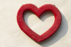 Red Heart Symbol Stock Images