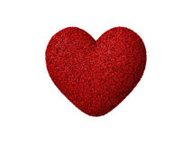 Red heart with thorns Royalty Free Stock Photography