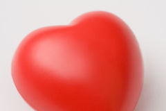 Red Heart Valentine Stock Image