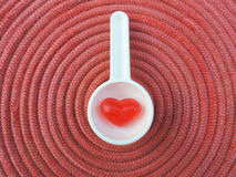 Red heart,Valentine background Royalty Free Stock Photography