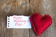 Red heart, valentine day Royalty Free Stock Photos