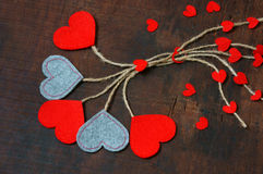 Red heart, Valentine day Royalty Free Stock Photo