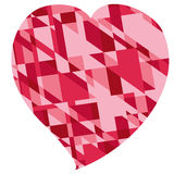 Red heart for valentine\\\\\\\'s day Royalty Free Stock Images