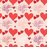 Red heart, valentine's day background Stock Photography