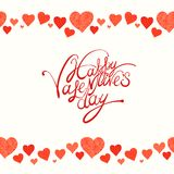 Red heart, valentine's day background Royalty Free Stock Photography