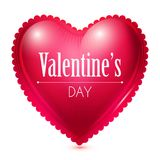 Red Heart. Valentine`s Day Background. Vector illustration. Red Heart. Valentine`s Day Background Royalty Free Stock Image