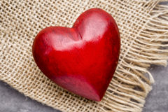 Red heart. Royalty Free Stock Photos