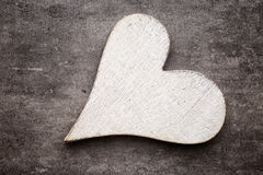 Red heart. Royalty Free Stock Photography