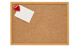 Red heart,Valentine's day. Valentine's day red heart and pink empty card stock photography
