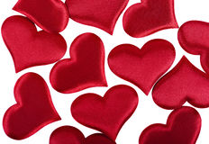 Red heart Valentine's Day Stock Photography