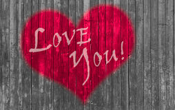 Red heart valentines day Stock Photos