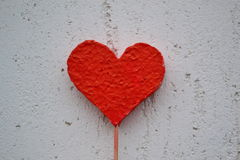 Valentine red heart Royalty Free Stock Photos