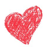Red heart vector icon Stock Images