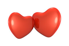 Red hearts. Stock Photography