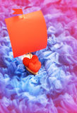 Red Hearts on Abstract Background Royalty Free Stock Photo