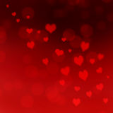 Red hearts background Royalty Free Stock Photography