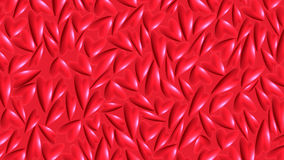Red hearts. On red background for valentine day Royalty Free Stock Images