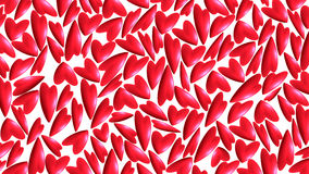 Red hearts. On background for valentine day Royalty Free Stock Image