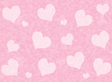 Red hearts background of Valentine's day. Love texture Royalty Free Stock Image