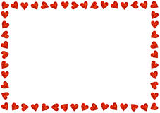 Red Hearts Card Valentines Day Love Royalty Free Stock Photos