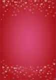 Red-hearts-love-background Stock Photos