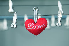 Red hearts,Love for Valentine's day. Stock Image