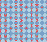 Red hearts seamless  sell background Stock Photos