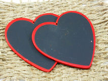Red hearts symbol Stock Photo