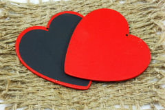 Red hearts symbol Royalty Free Stock Photo