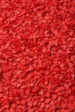 Red hearts. Symbol of love.  Stock Photo