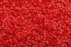 Red hearts. Symbol of love.  Royalty Free Stock Images