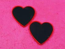 Red hearts symbol Stock Photo