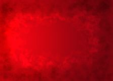 Red hearts texture background royalty free stock image