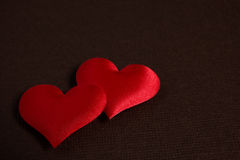 Red hearts - valentine's day royalty free stock photography