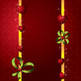 Red hearts Valentines Day Background Royalty Free Stock Photography