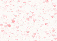 Red hearts watermark backgrounds. Love texture Royalty Free Stock Photos