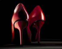 Red heel Stock Photo