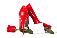 Red Heels Stock Photos