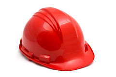 Red helmet Stock Photography