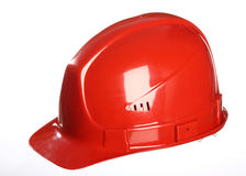 Red helmet Royalty Free Stock Image