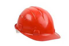 Red helmet Royalty Free Stock Photos