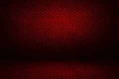 Red hexagon background and texture. Red hexagon background with real texture. perspective design. 3d illustration Stock Photos