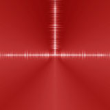 Red hi tech tunnel background Stock Photography