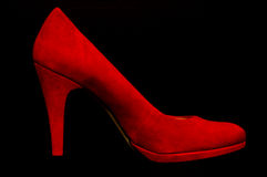 Red High Heel Stock Photo
