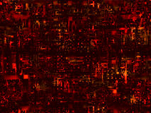 Red high-tech background Royalty Free Stock Photography