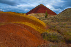 Red Hill, Painted Hills, Oregon Stock Photo