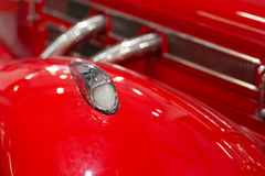 Red historic car Stock Photography