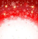 Red holiday backdrop Royalty Free Stock Photography