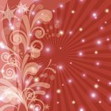 Red holiday background Stock Image