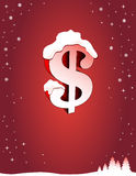 Red holiday background Stock Photo